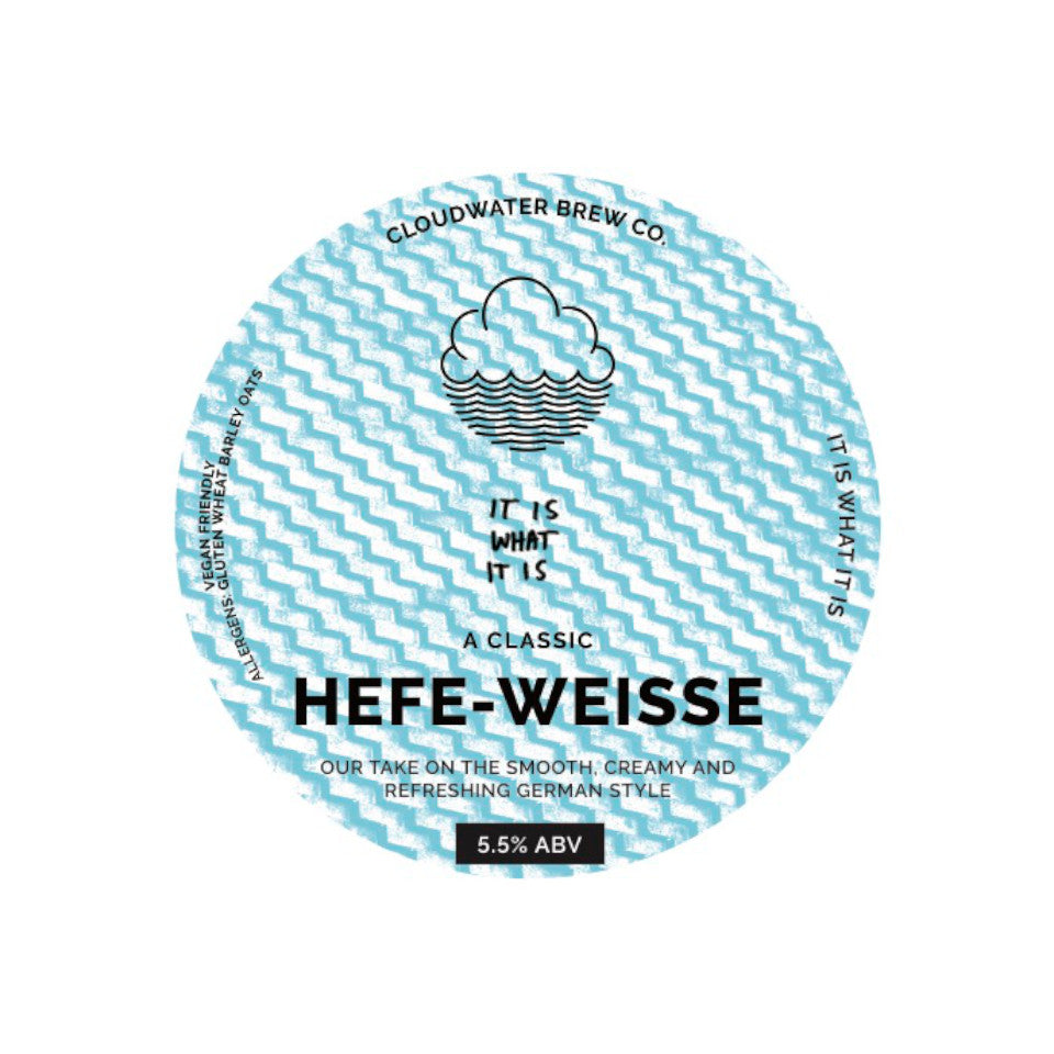 Cloudwater, It Is What It Is, Hefe Weisse, 5.5%, 440ml
