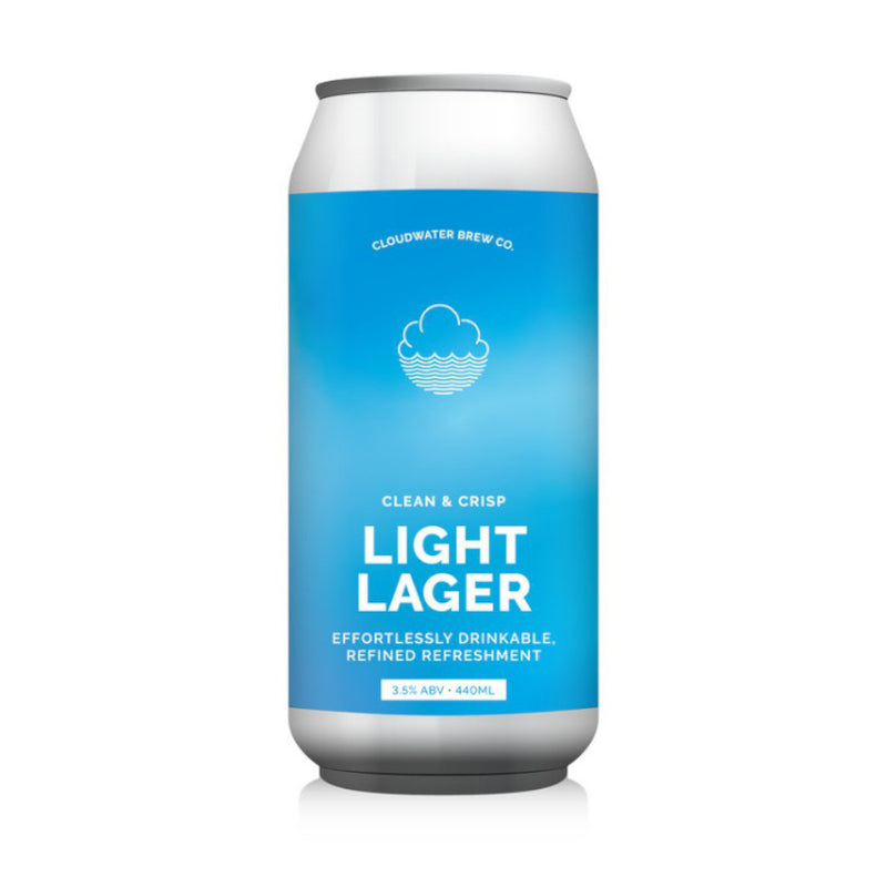 Cloudwater, Light Lager, 3.5%, 440ml - The Epicurean