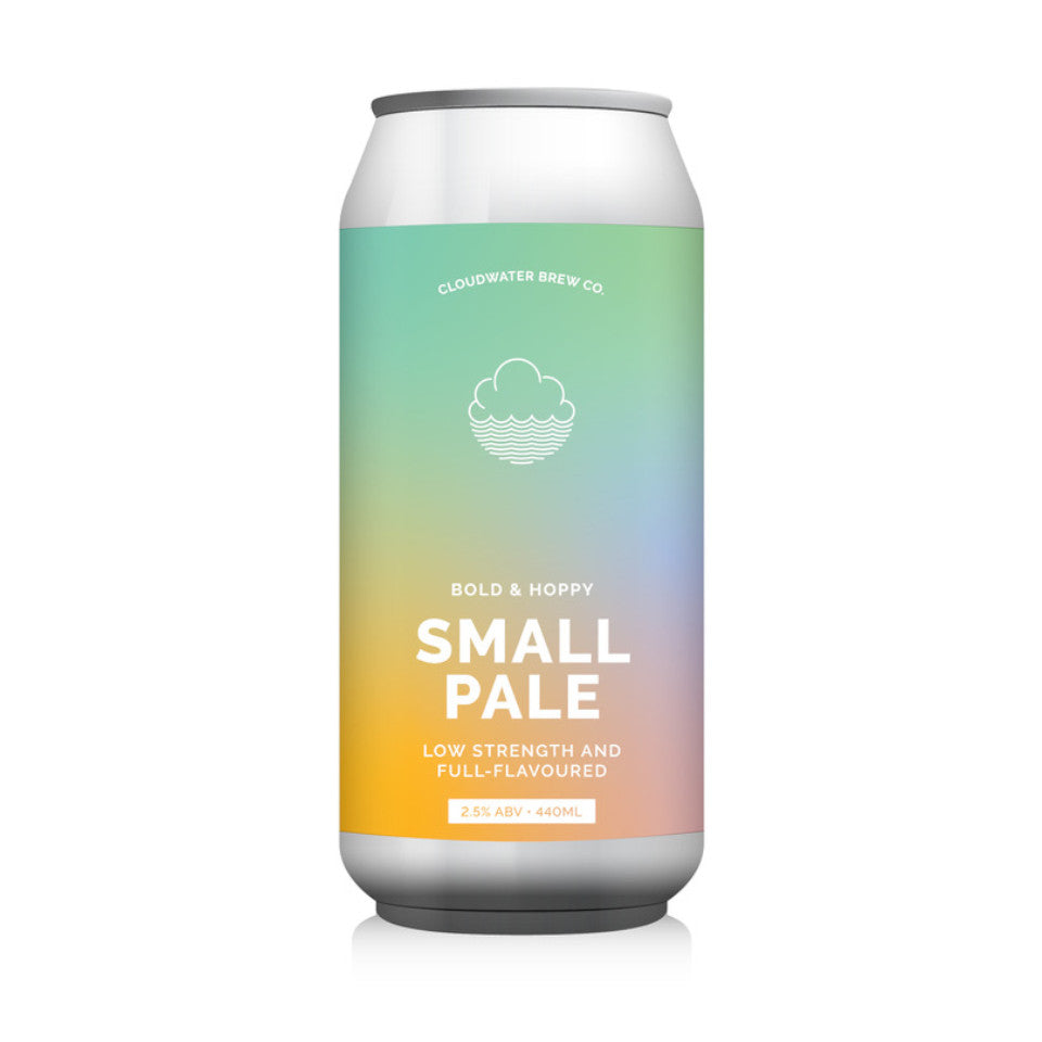 Cloudwater, Small Pale, 2.5%, 440ml - The Epicurean