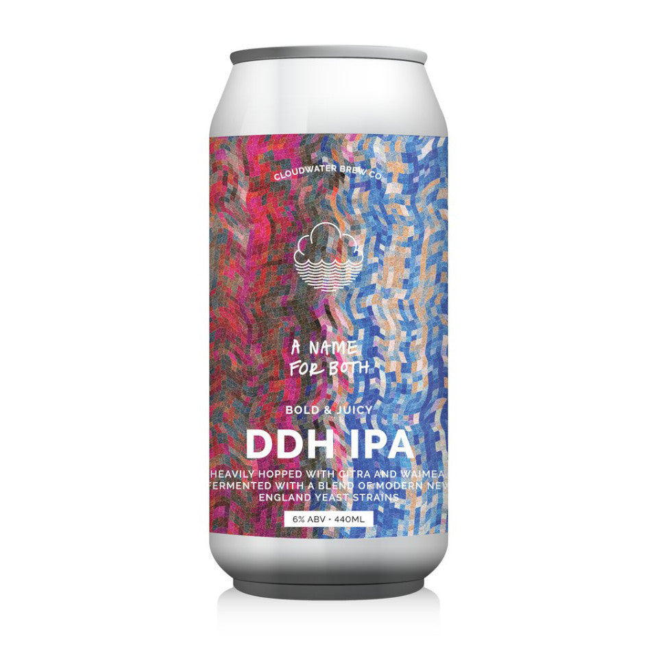 Cloudwater, A Name For Both, DDH IPA, 6.0%, 440ml