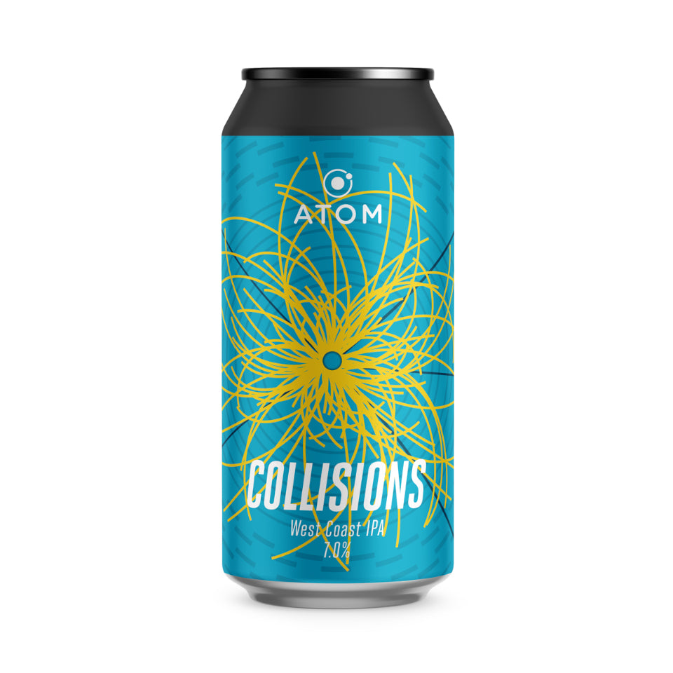 ATOM, Collisions, West Coast IPA, 7.0%, 440ml