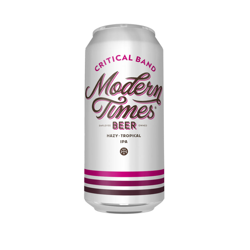Modern Times, Critical Band, Hazy IPA, 6.7%, 473ml - The Epicurean