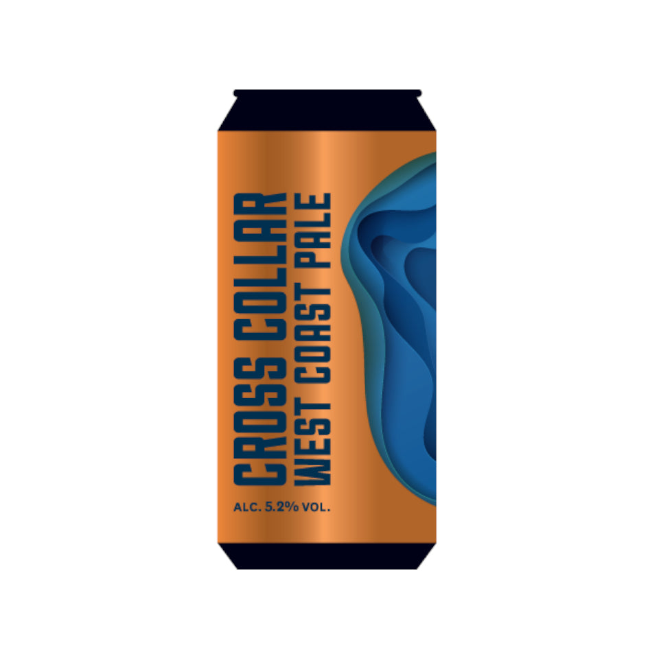 Marble, Cross Collar, West Coast Pale, 5.2%, 500ml - The Epicurean