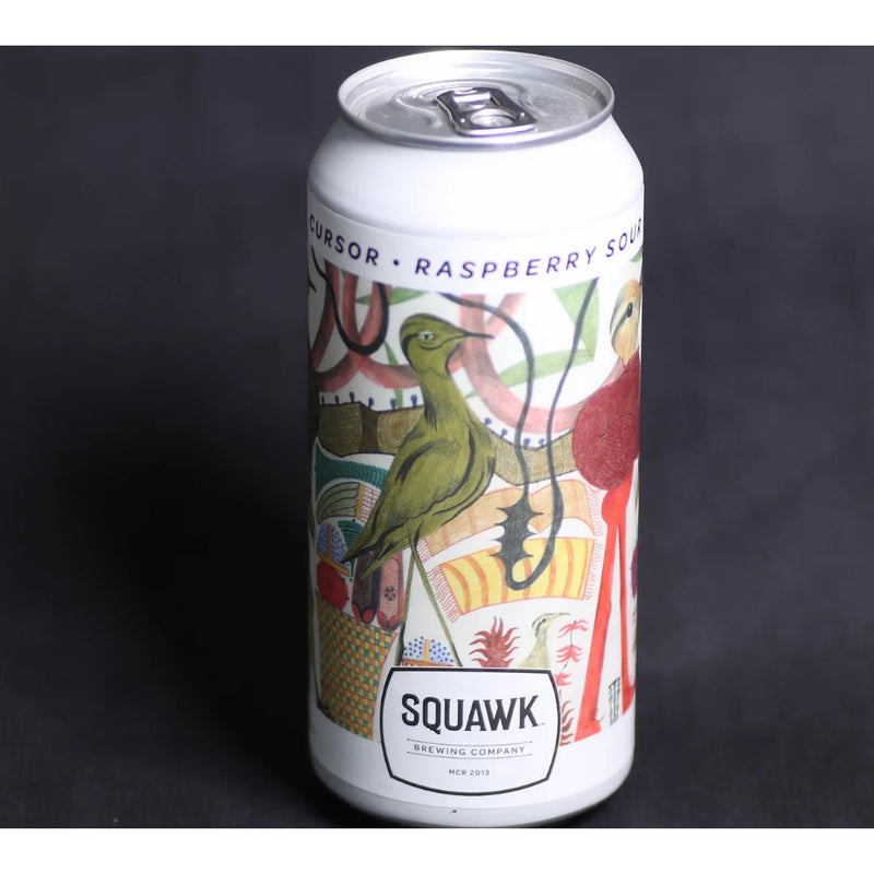 Squawk, Cursor, Raspberry Sour, 5.3%, 440ml - The Epicurean