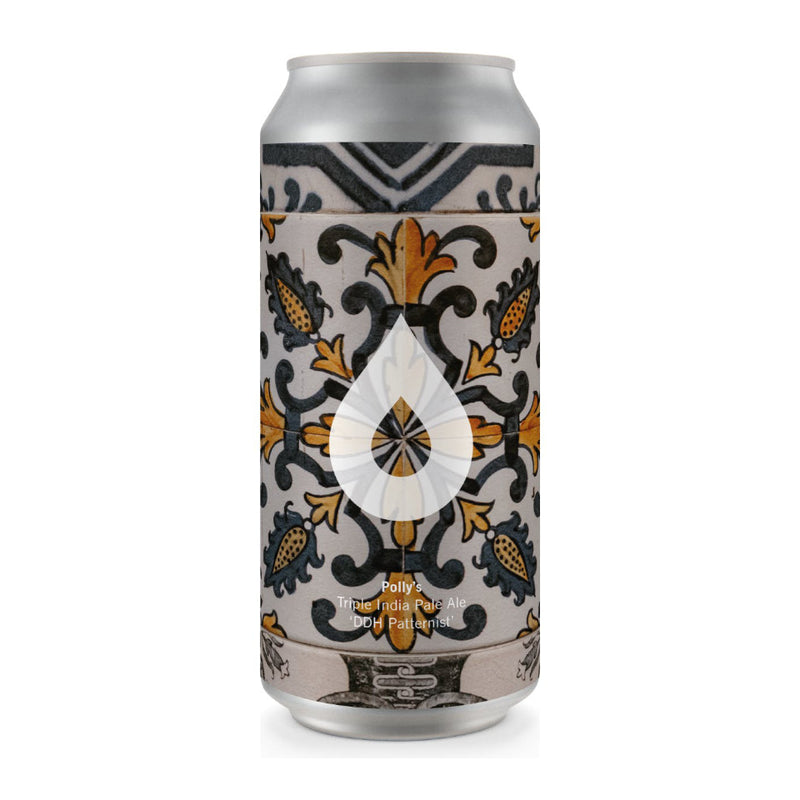 Polly's Brew Co, DDH Patternist, TIPA, 10%, 440ml