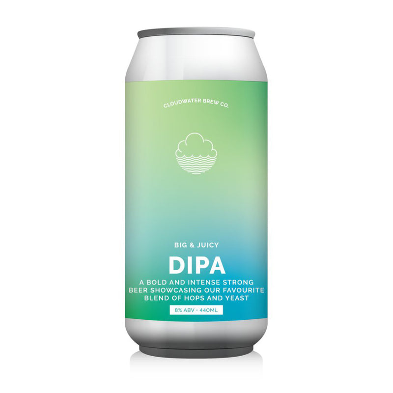 Cloudwater, DIPA, Double IPA, 8.5%, 440ml