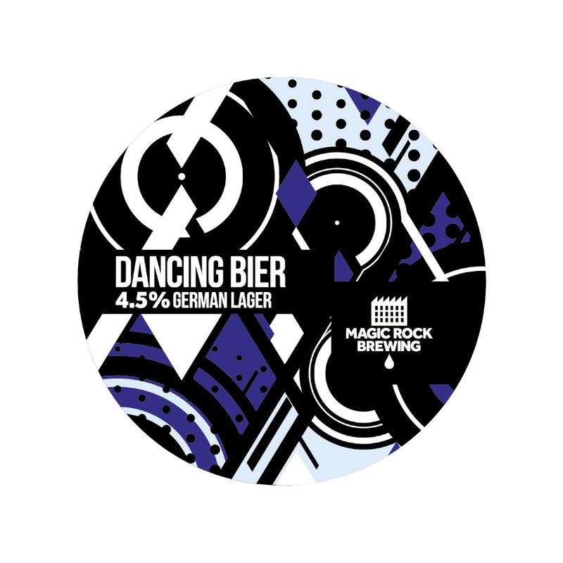 Magic Rock, Dancing Bier, German Lager, 4.5%, 330ml - The Epicurean