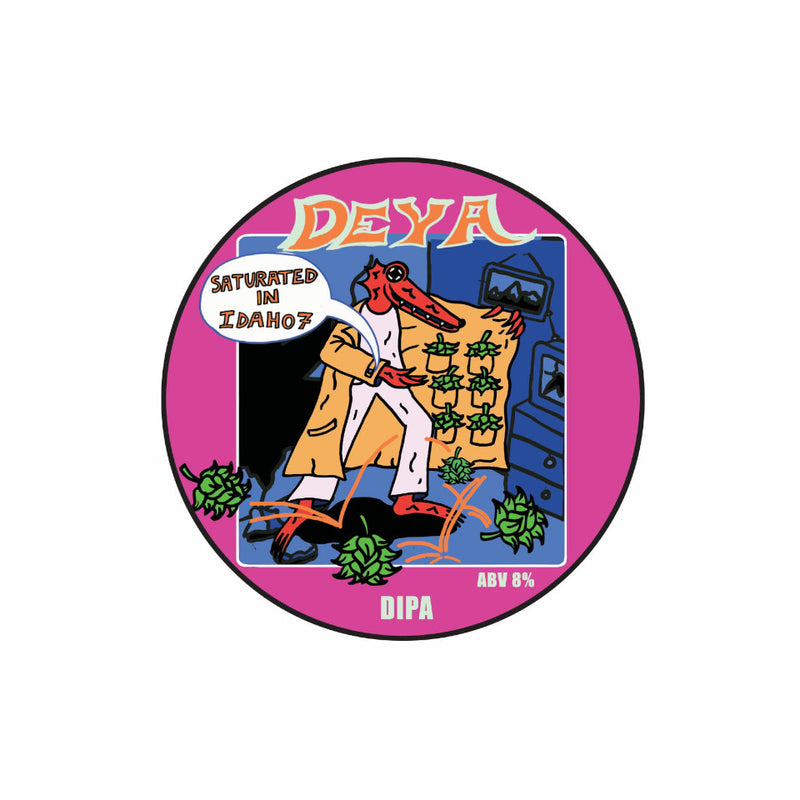 DEYA, Saturated in Idaho, DIPA, 8.0%, 440ml
