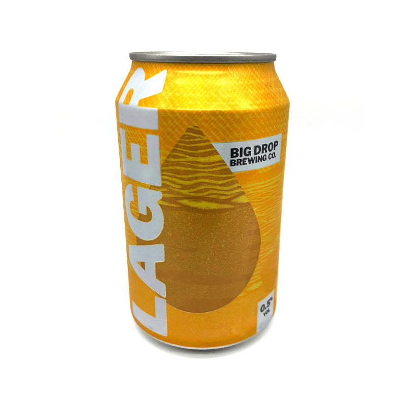 Low Alcohol Lager, 0.5%, 330ml - The Epicurean