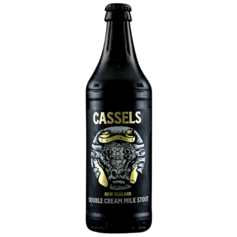 Cassels, Double Cream Milk Stout, 8.1%, 518ml - The Epicurean