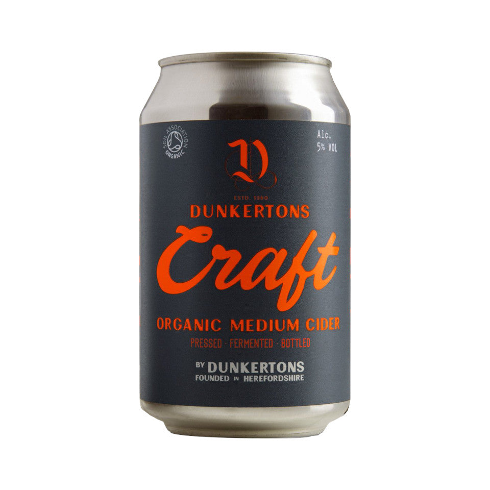 Dunkertons, Craft Cider Can, 5.0%, 330ml