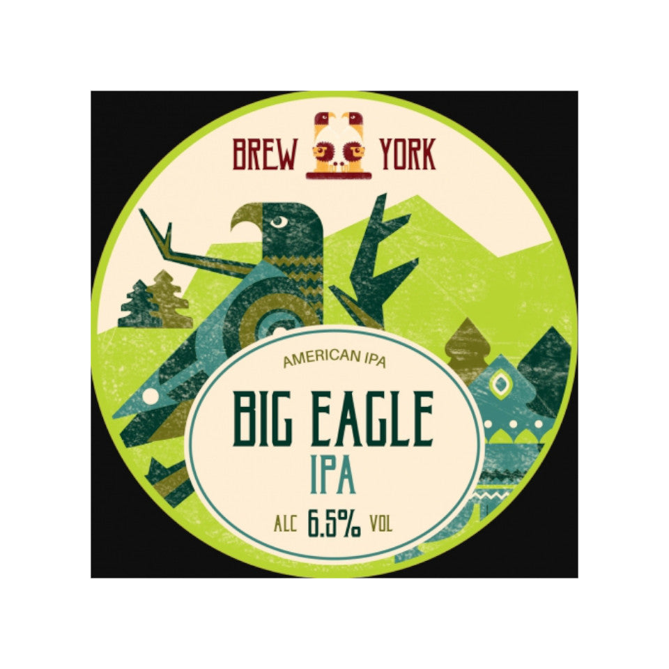 Brew York, Big Eagle, IPA, 7.1%, 440ml - The Epicurean