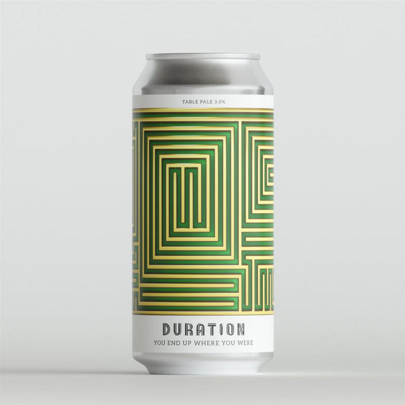 Duration Brewing, You End Up Where You Were, Table Beer, 3.0%, 440ml - The Epicurean