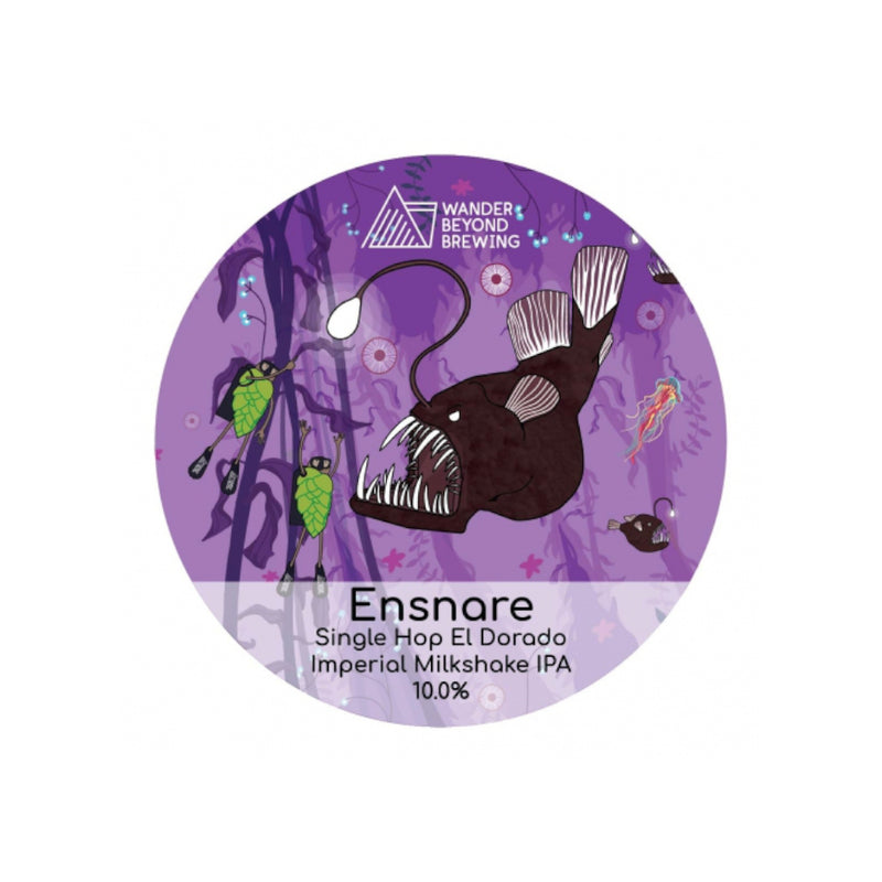 Wander Beyond, Ensnare, Imperial Milkshake IPA, 10%, 440ml - The Epicurean