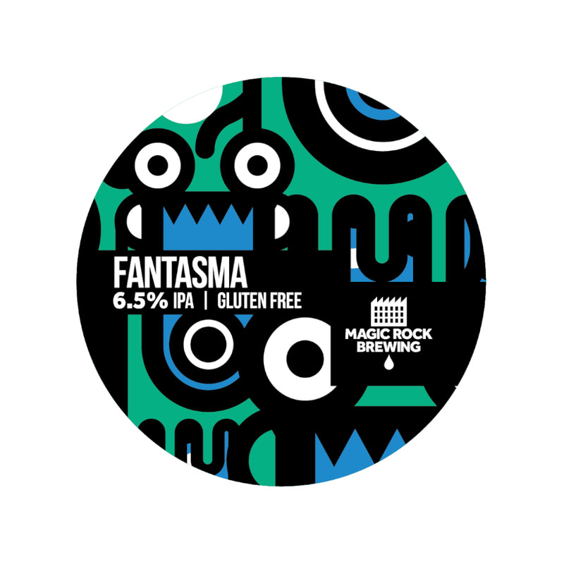 Magic Rock, Fantasma, Gluten Free IPA, 6.5%, 330ml - The Epicurean