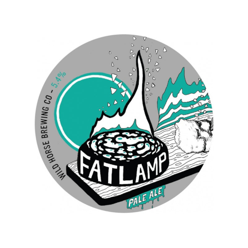 Wild Horse Brewing Co, Fatlamp, Pale Ale, 5.4%, 440ml - The Epicurean