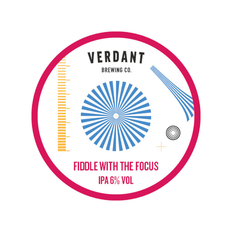 Verdant, Fiddle With Focus, IPA, 6.0%, 440ml