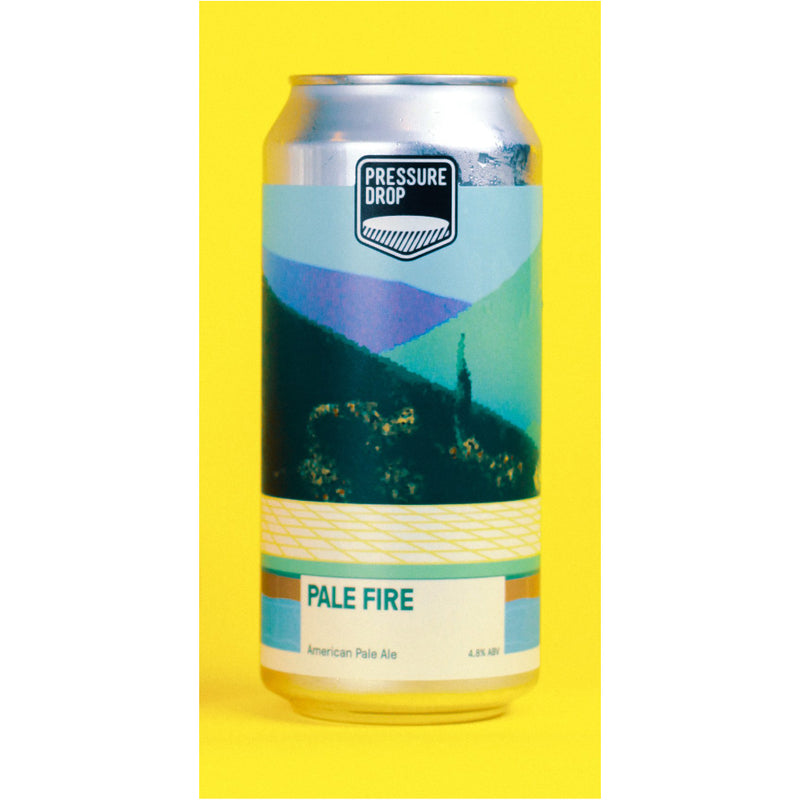 Pressure Drop, Pale Fire, Pale Ale, 4.8%, 440ml - The Epicurean