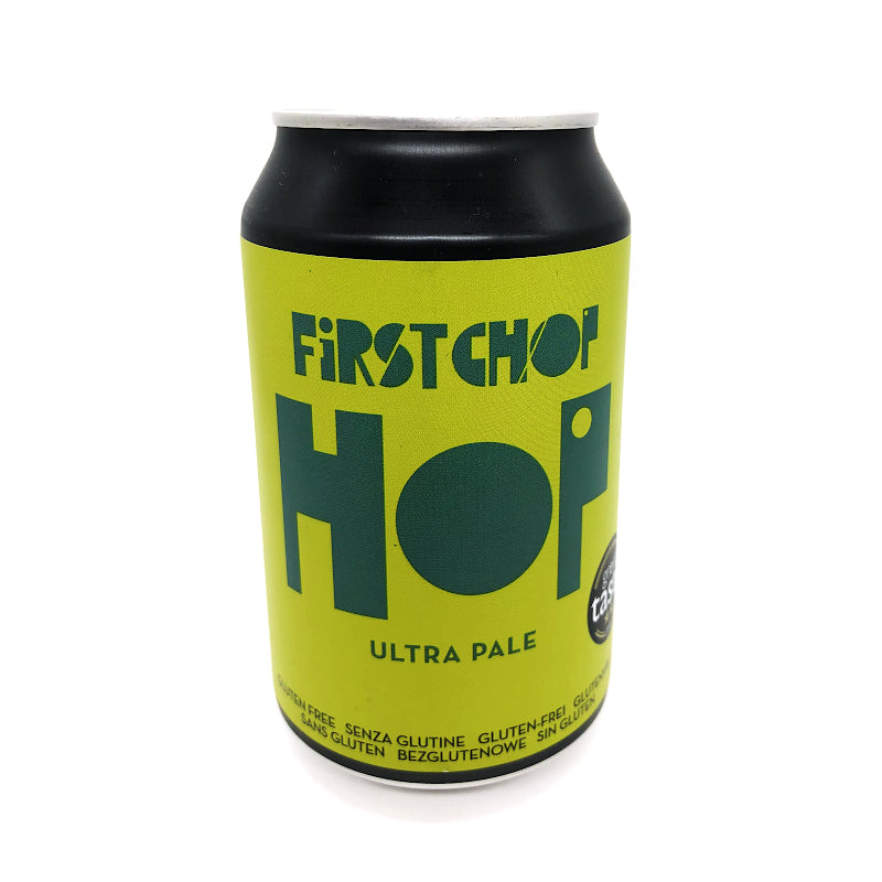 First Chop, HOP, Ultra Pale, 4.1%, 330ml - The Epicurean