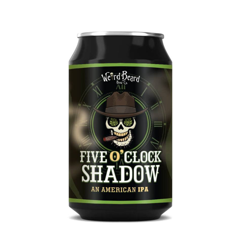 Weird Beard, Five O Clock Shadow, American IPA, 7.0%, 330ml - The Epicurean