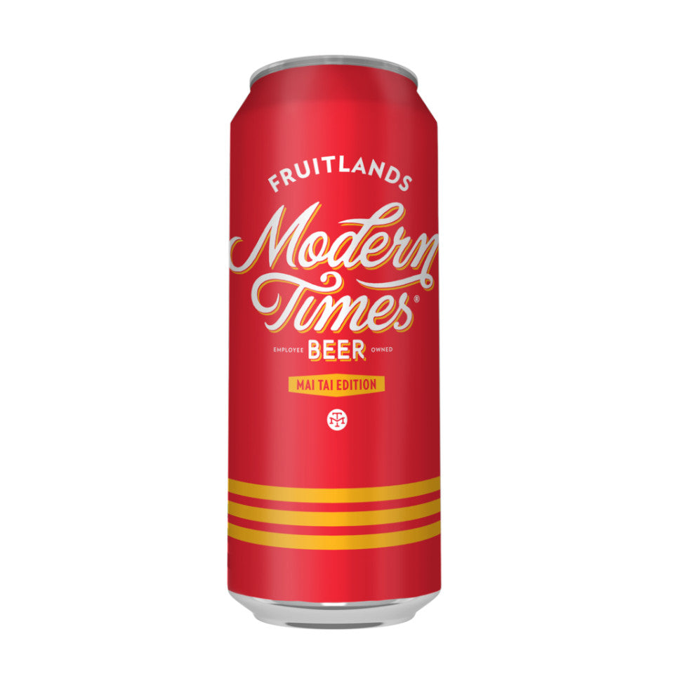 Modern Times, Fruitlands Mai Tai Edition, Fruited Gose, 4.8%, 567ml - The Epicurean