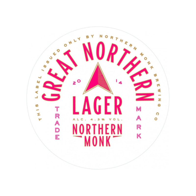 Northern Monk, Great Northern Lager, 4.3%, 440ml - The Epicurean