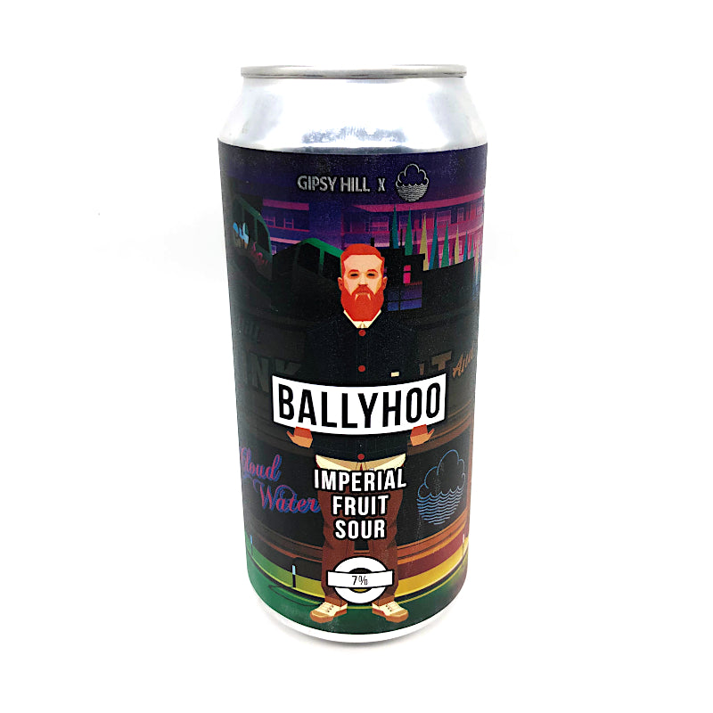 Ballyhoo, Imperial Fruited Sour, 7.0%, 440ml - The Epicurean
