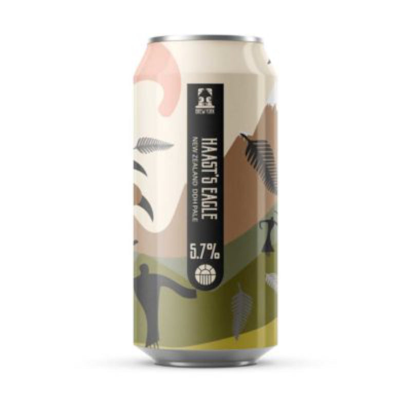 Brew York, Haast's Eagle, DDH Pale Ale, 5.7%, 440ml