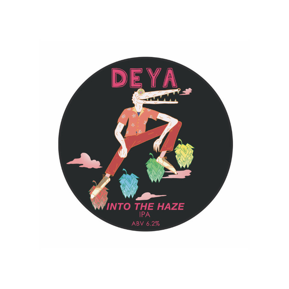 DEYA, Into The Haze, IPA, 6.2%, 500ml - The Epicurean
