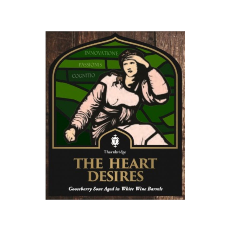 Thornbridge, The Heart Desire, Sour Blonde Ale, 6.5%, 375ml - The Epicurean