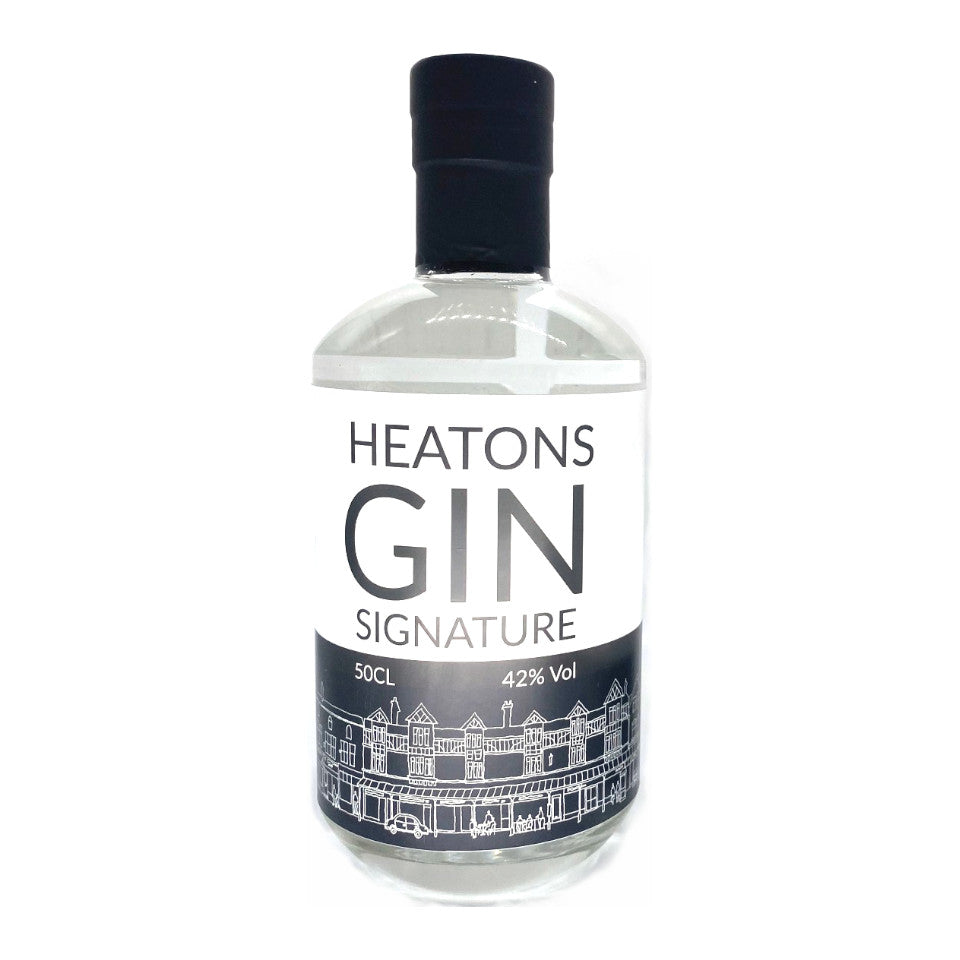 Heaton Gin, Heatons Gin Signature, 42%, 50cl - The Epicurean