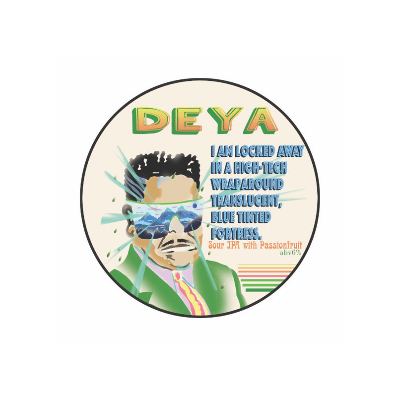 DEYA, High Tech Wraparound, Sour IPA, 6.0%, 440ml