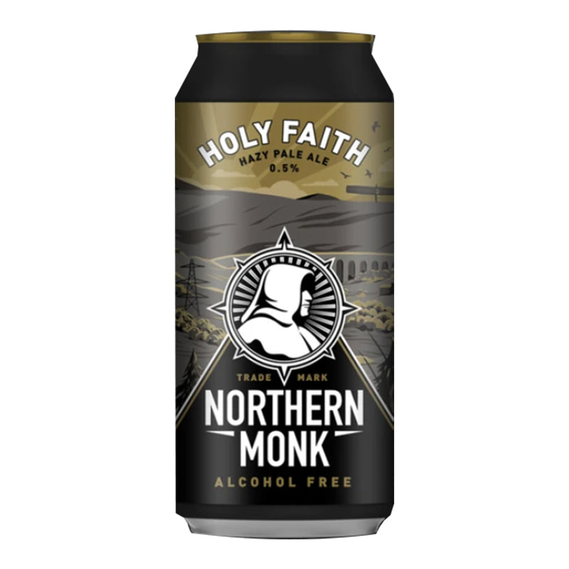 Northern Monk, Holy Faith, Alc Free Hazy Pale Ale, 0.0%, 440ml