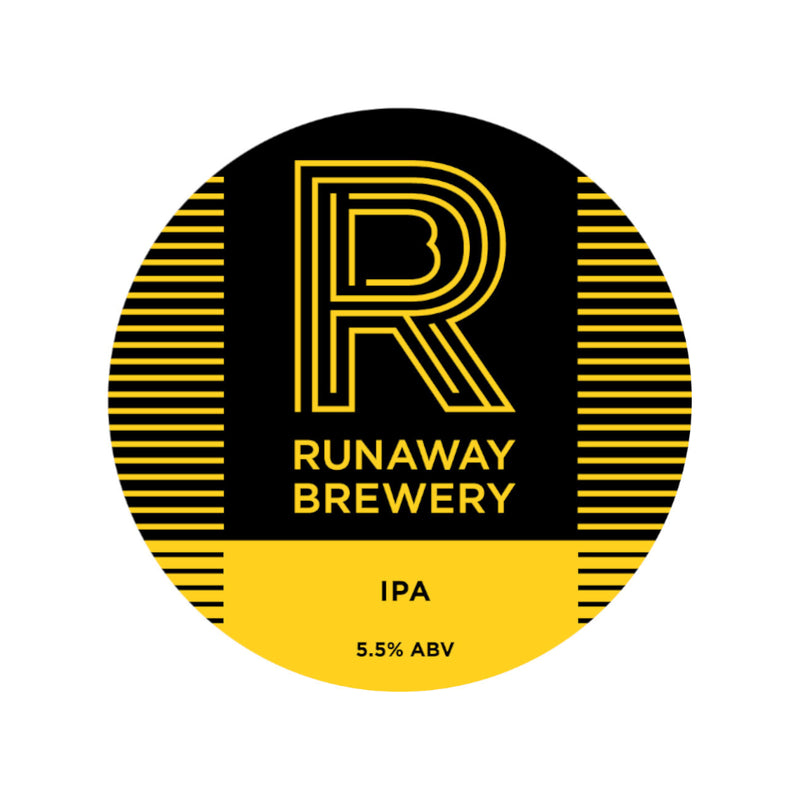 Runaway, IPA, 5.5%, 330ml - The Epicurean