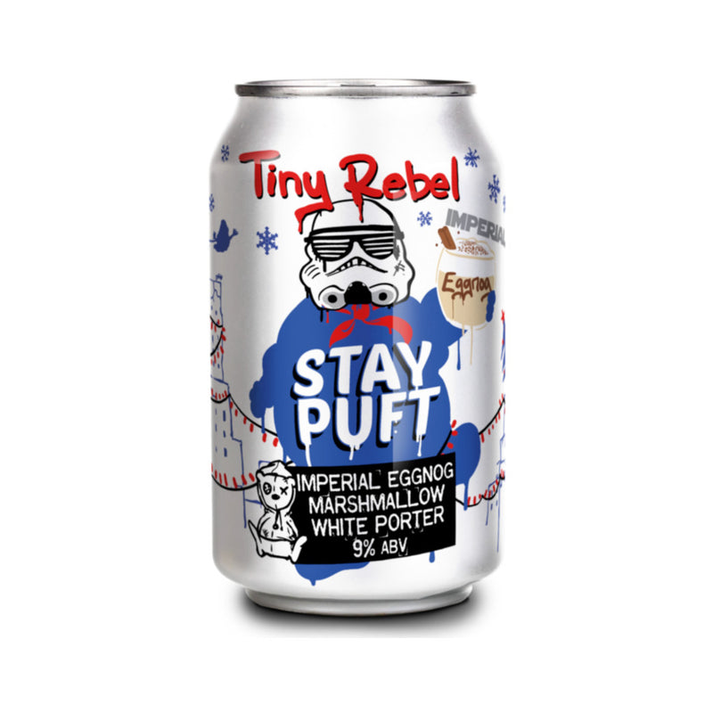 Tiny Rebel, Stay Puft, Imperial Eggnog Marshmallow White Porter, 9.0%, 330ml