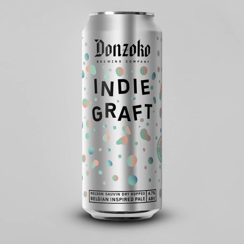 Donzoko, Indi Graft, Belgian Inspired Pale Ale, 4.7%, 440ml