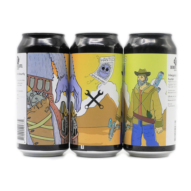 De Moersleutel, Intergalactic Bounty Hunter, Imperial Stout with Coconut & Coffee, 10%, 440ml