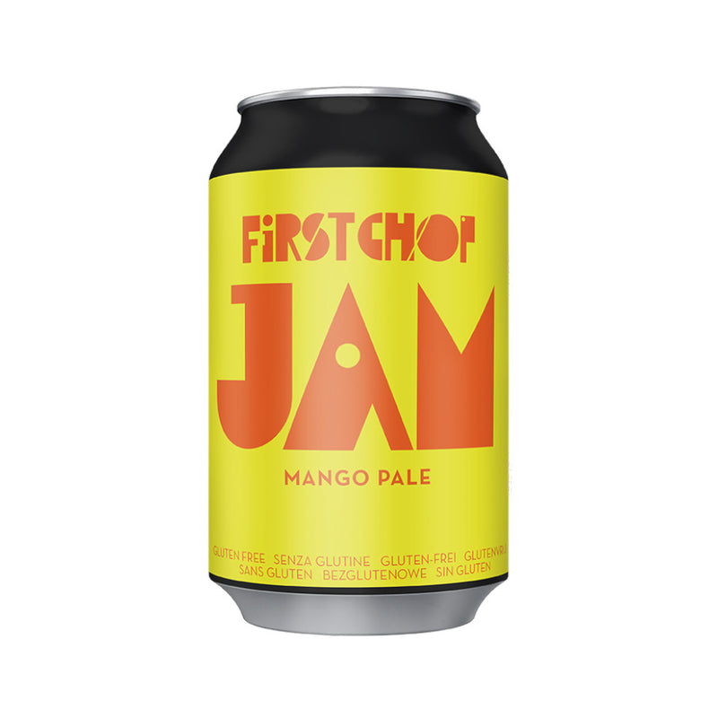 First Chop, Jam, Mango Pale Ale, 4.0%, 330ml