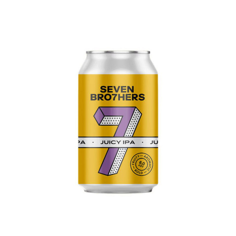Seven Brothers, Juicy IPA, 6.0%, 330ml - The Epicurean
