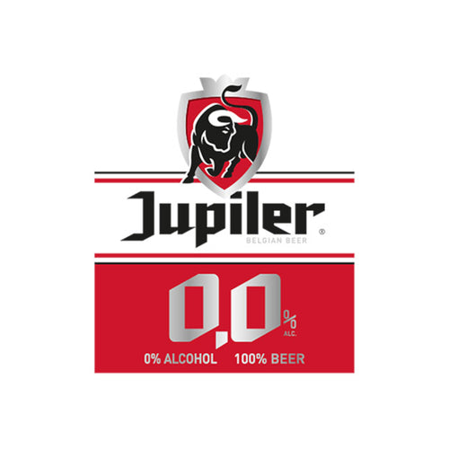 Jupiler, Alcohol Free Pilsner, 0.0%, 330ml
