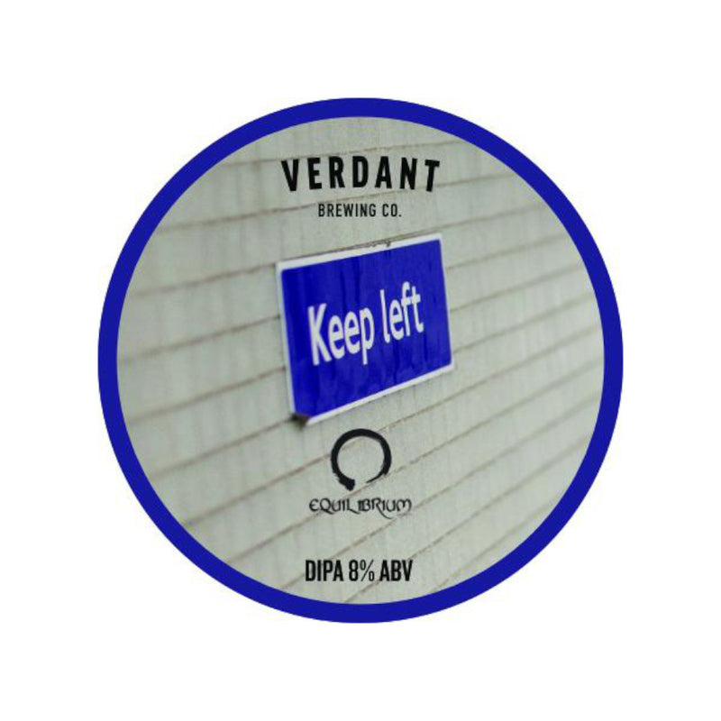 Verdant, Keep Left, DIPA, 8.0%, 440ml