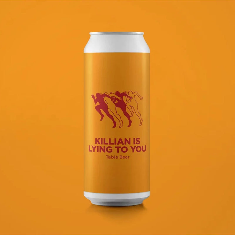 Pomona Island, Killian Is Lying To You, Table Beer, 3.3%, 440ml - The Epicurean