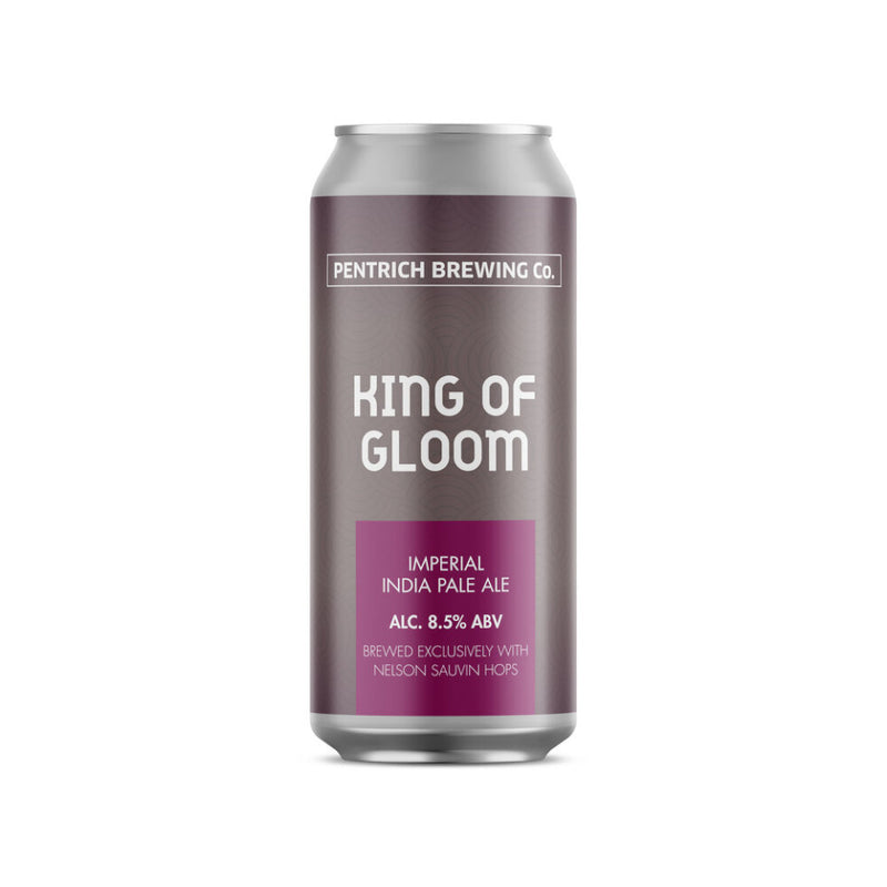 Pentrich Brewing Co, King of Gloom, Imperial IPA, 8.5%, 440ml