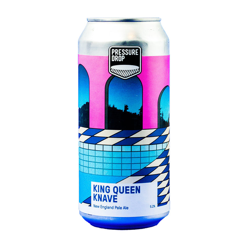 Pressure Drop, King Queen Knave, New England Pale Ale, 5.2%, 440ml