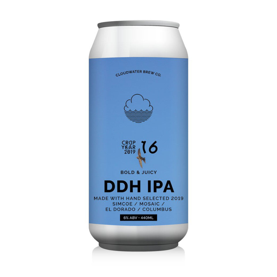 Cloudwater, Land Of Landings, DDH IPA, 6.0%, 440ml - The Epicurean