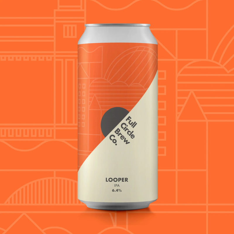 Full Circle Brew Co, Looper, IPA, 6.4%, 440ml - The Epicurean