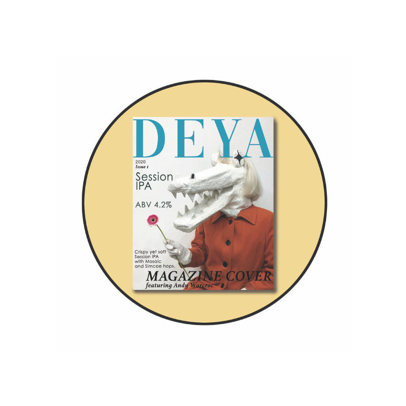 DEYA, Magazine Cover, Session IPA, 4.2%, 500ml - The Epicurean