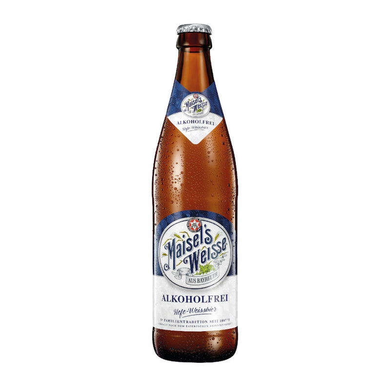 Maisels Weisse, Weisse Beer, Alcohol Free Wheat Beer, 0.5%, 500ml