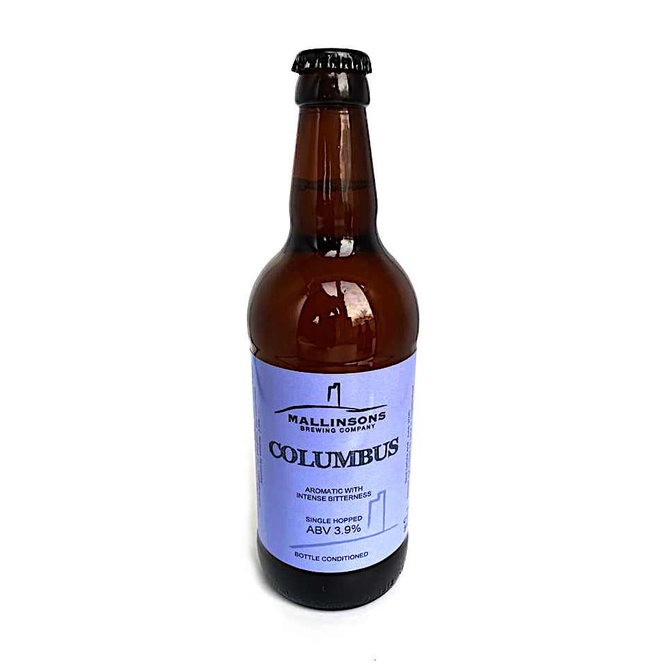 Mallinsons, Columbus, Aromatic Pale Ale, 3.9%, 500ml - The Epicurean