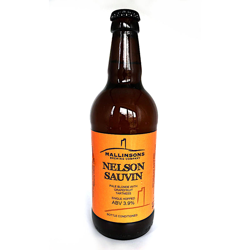 Mallinsons, Nelson Sauvin, Single Hopped Pale Blonde, 3.9%, 500ml - The Epicurean